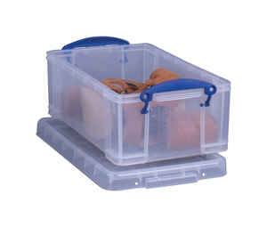 Really Useful Box  5 in. H x 8 in. W x 13-3/8 in. D Stackable Storage Box