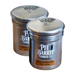 Pit Barrel Cooker Co.  Silver  Stainless Steel  Shaker Set