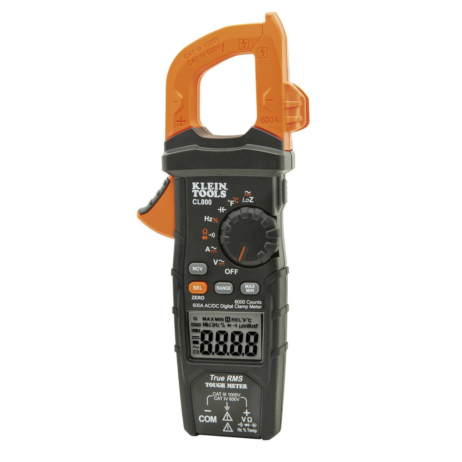 Klein Tools  True RMS  Auto-Ranging  Digital  Clamp-On Meter