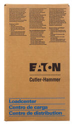 Eaton Cutler-Hammer 100 amps 120/240 volt 2 space 2 circuits Surface Mount Circuit Breaker Enclos