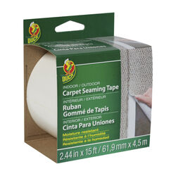 Duck  2.44  W x 15 ft. L Polyester  Indoor and Outdoor  Carpet Tape