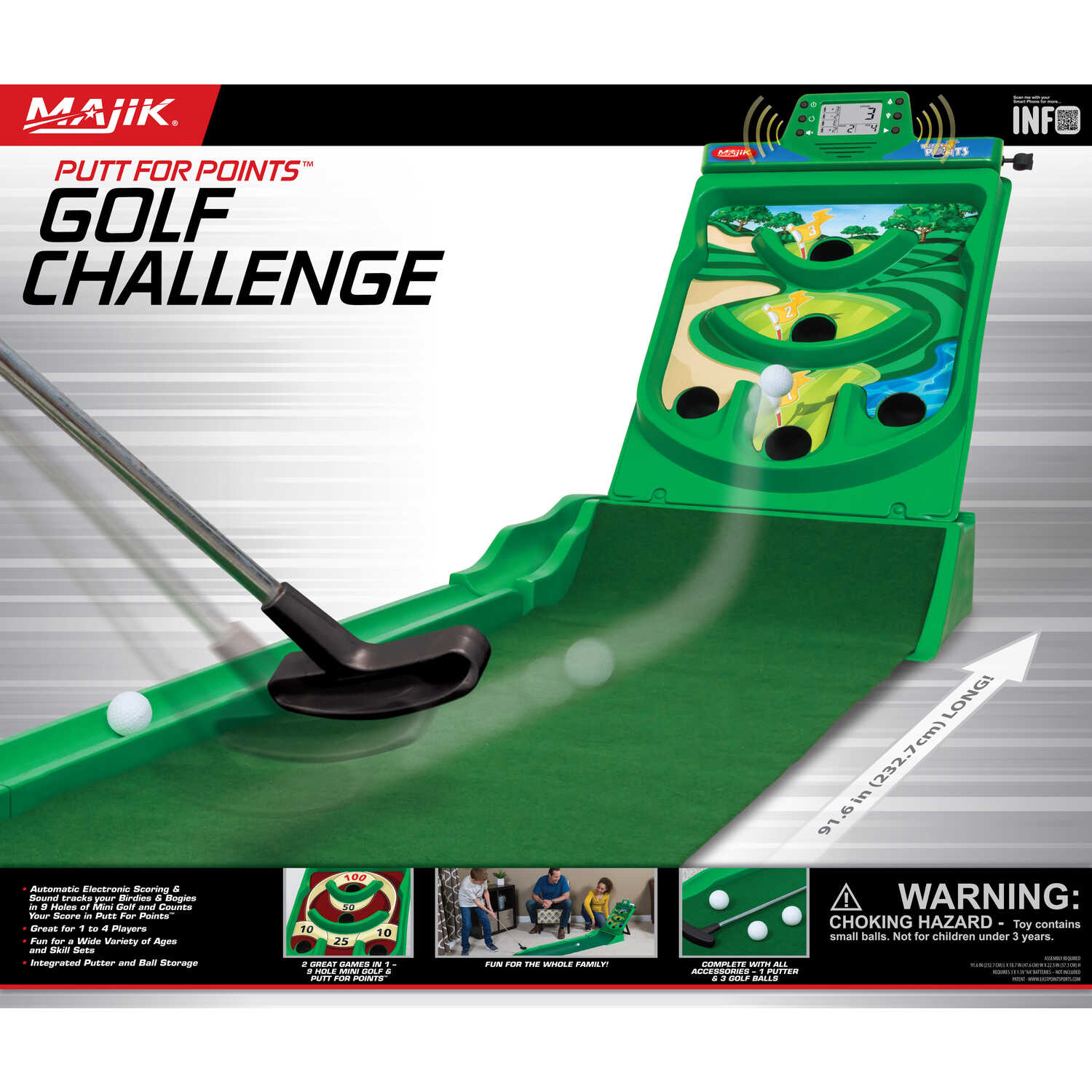 Majik  Golf Game  Plastic