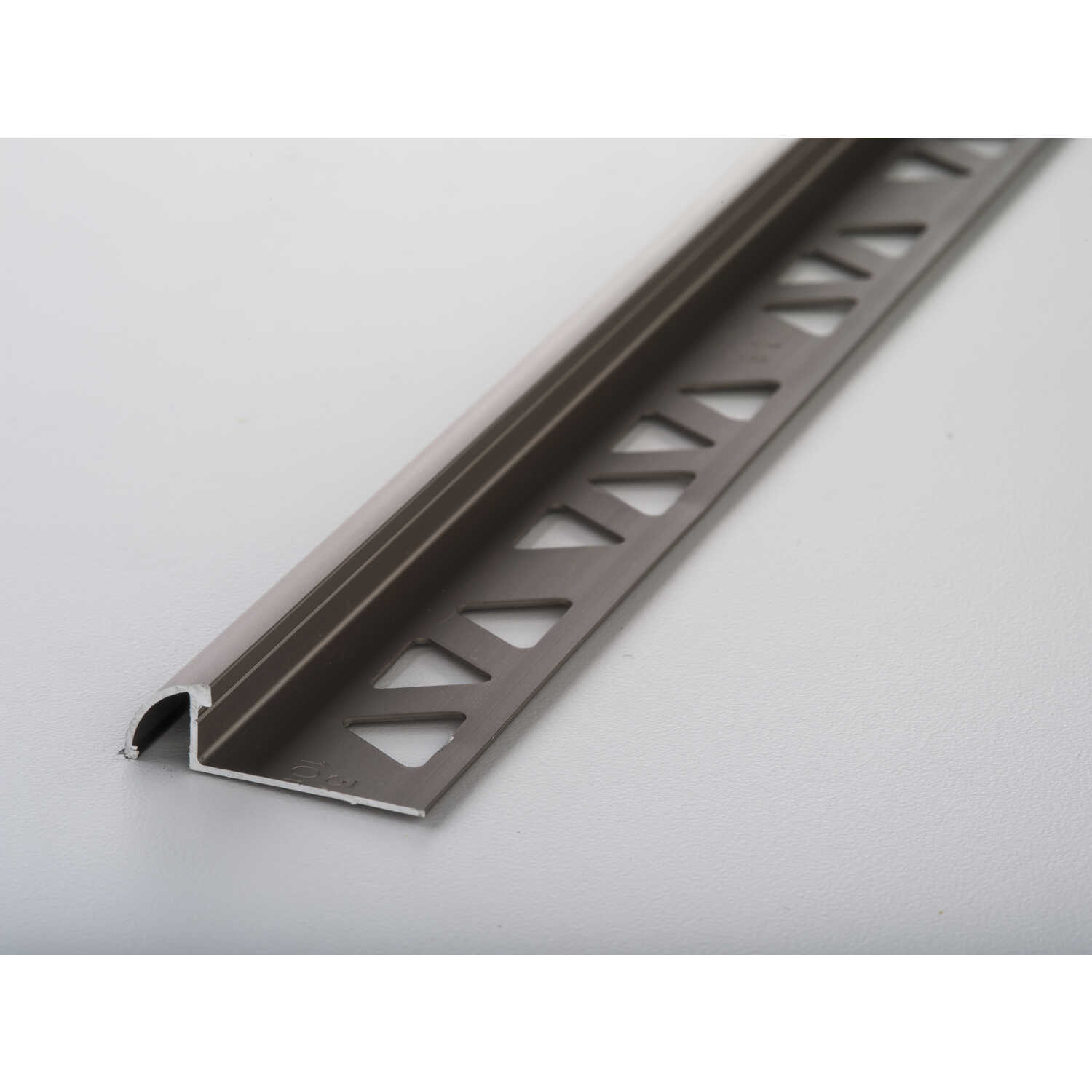 M-D Building Products  96 in. L Prefinished  Silver  Aluminum  Bullnose