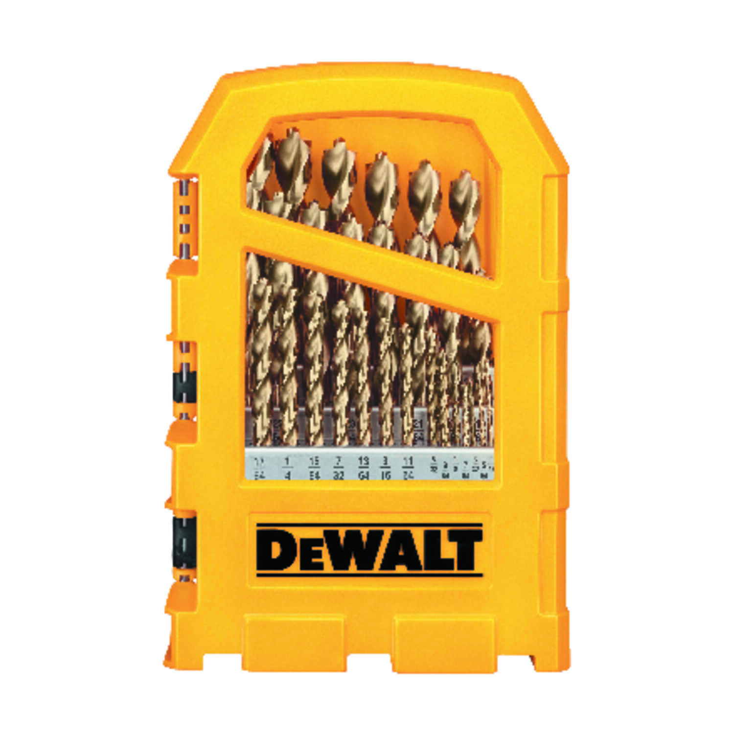 DeWalt  Pilot Point  High Speed Steel  Drill Bit Set  Straight Shank  29 pc.