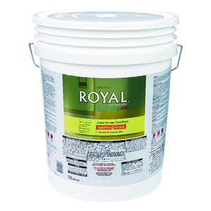 Ace  Royal  Ultra White  Semi-Gloss  Acrylic Latex  House & Trim Paint & Primer  5 gal.