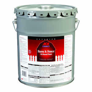 Ace  Gloss  Barn Red  5 gal. Barn and Fence Paint  Oil-Based