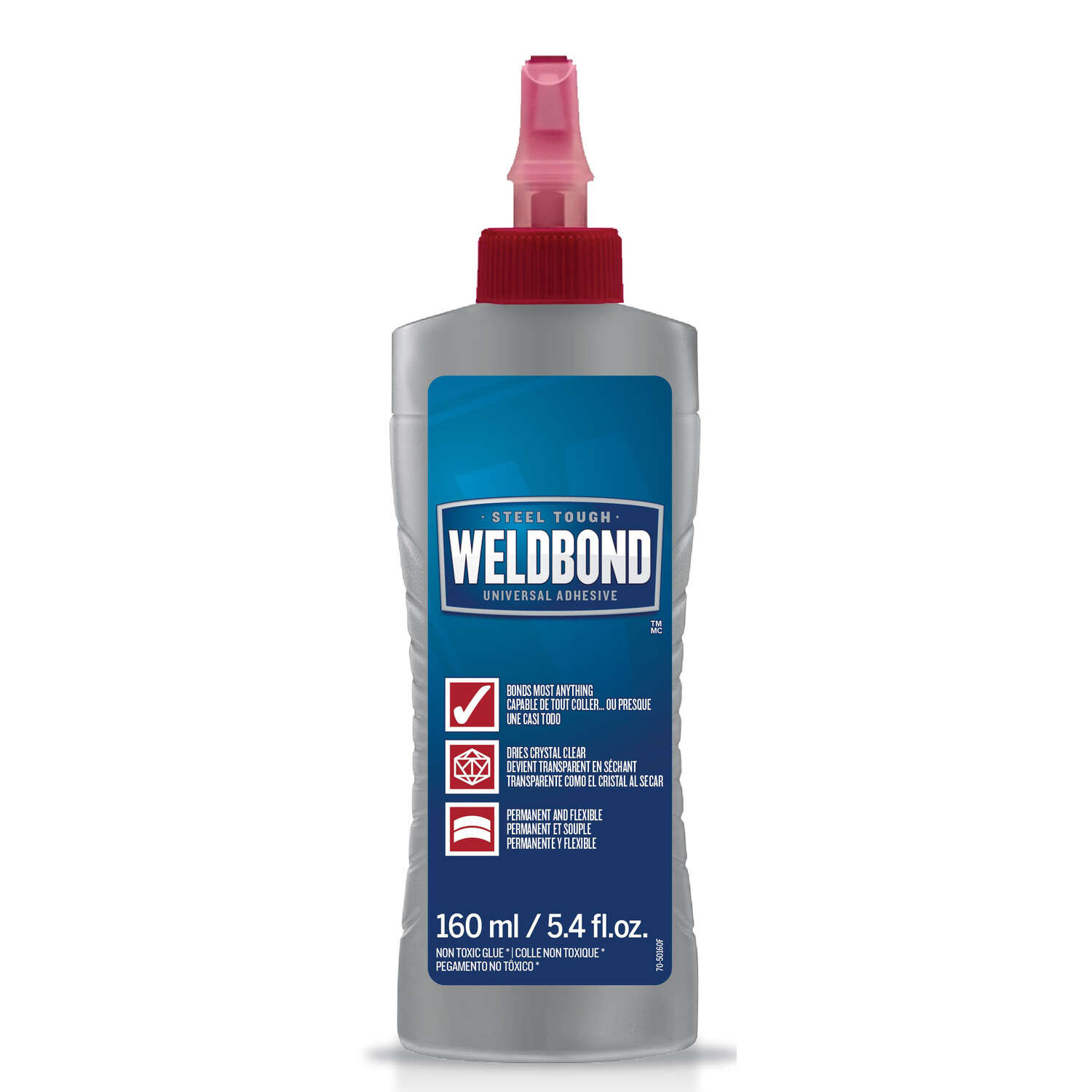 Weldbond  High Strength  Polyvinyl acetate homopolymer  All Purpose Adhesive  5.4 oz.