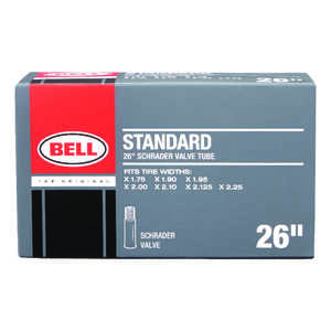 Bell Sports  Standard  26 in. Rubber  26 x 1.75 - 2.25  Bike Tube  1 pk
