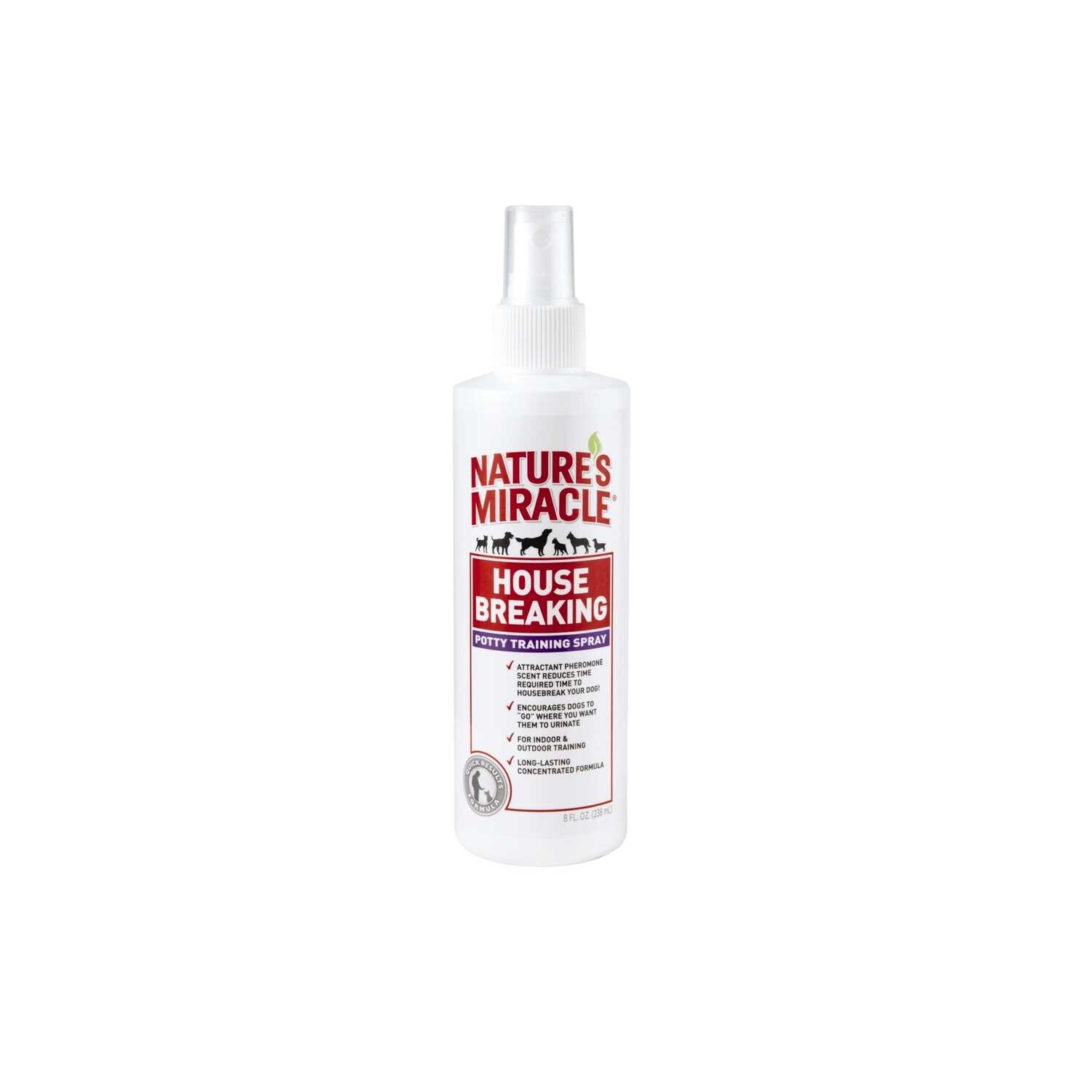 Nature's Miracle  Dog  Housebreak Training Spray  8