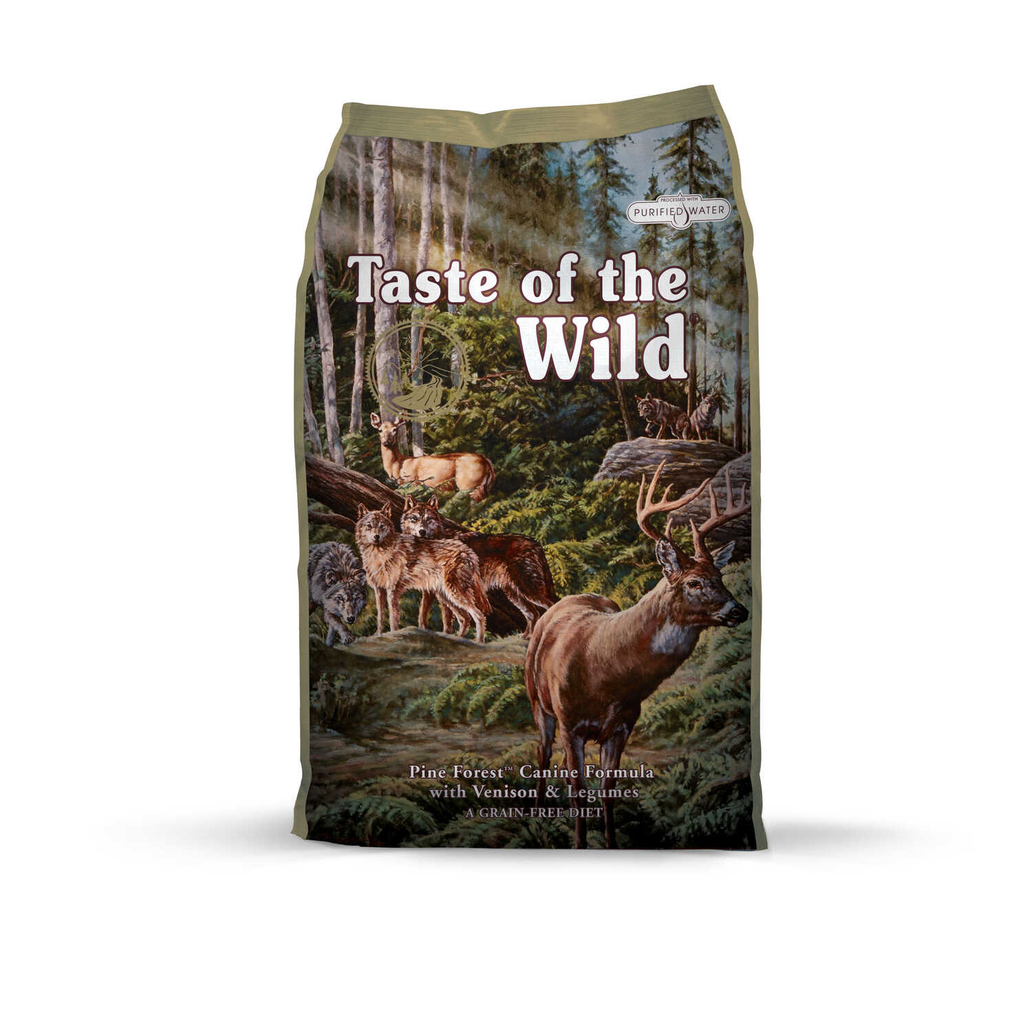 Taste of the Wild  Pine Forest  Venison/Legumes  Dog  Food  Grain Free 28 lb.