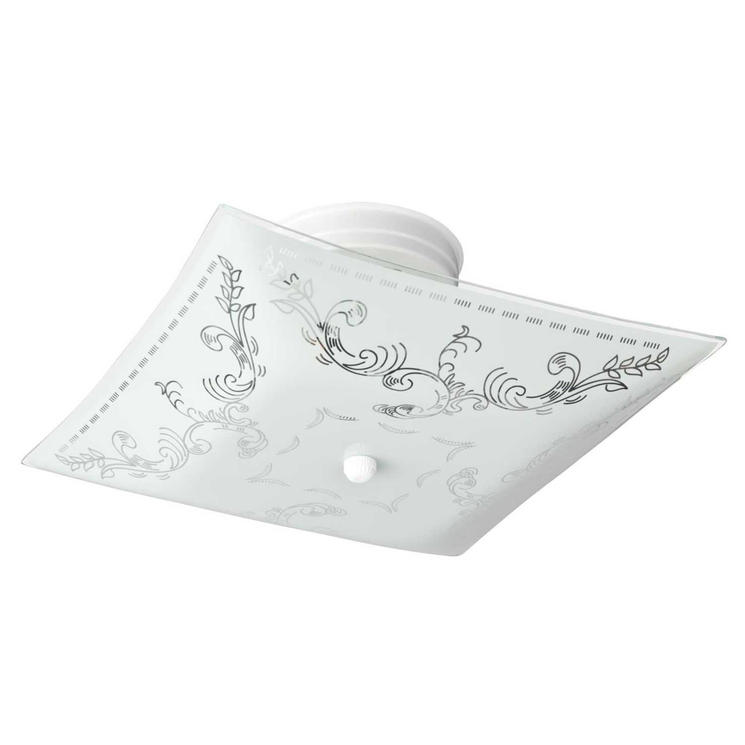 Westinghouse  6-1/4 in. H x 11-1/2 in. L x 11-1/2 in. W Ceiling Light