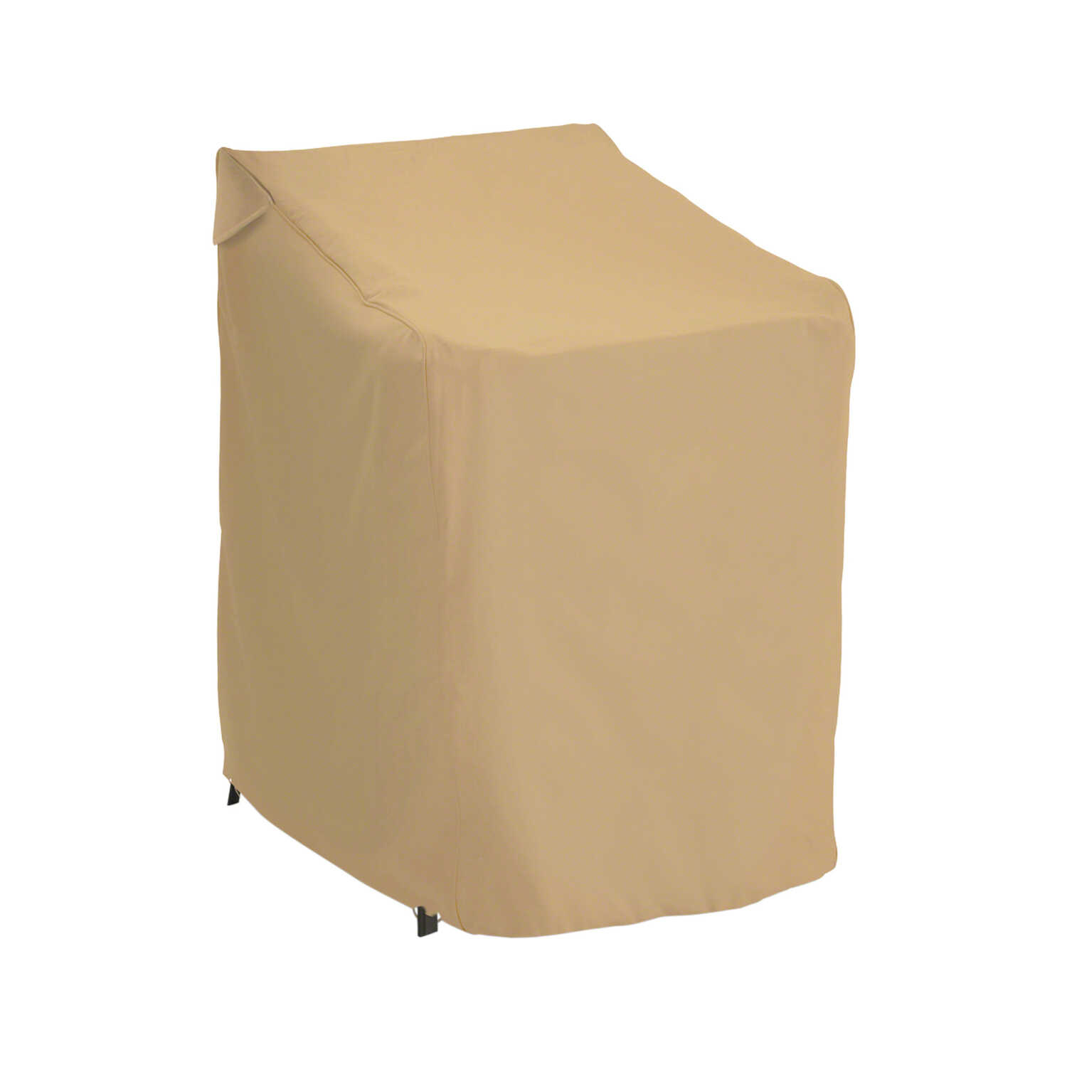 Classic Accessories  47 in. H x 28 in. W x 36 in. L Brown  Chair Cover  Polyester  Terrazzo