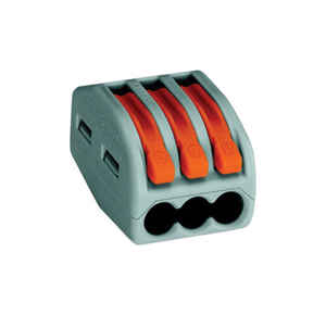 Wago  Insulated  Compact Connector  5 pk