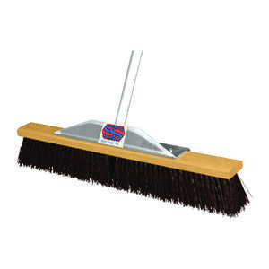 The Super Sweeper  Push Broom  24 in. W x 60 in. L Polypropylene