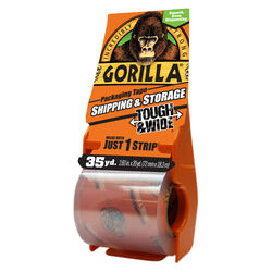 Gorilla 2.88 in. W x 35 yd. L Tape Clear