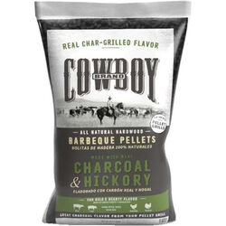 Cowboy Charcoal and Hickory Wood Pellet Fuel 20 lb.