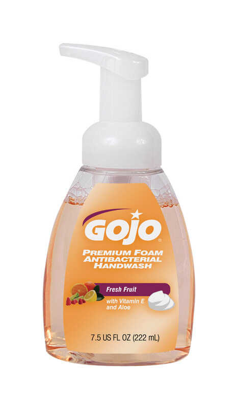 Gojo  Fresh Fruit Scent Antibacterial Foam Hand Wash  7.5 oz.