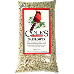 Cole's  Assorted Species  Wild Bird Food  Safflower Seeds  5 lb.