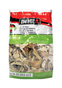 Weber  Firespice  Apple  Wood Smoking Chips  192 cu. in.