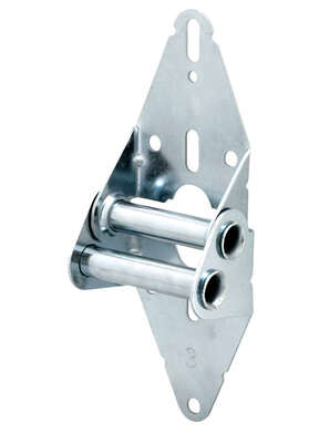 Prime-Line 3 in. W x 11.75 in. L x 0.44 in. Dia. Steel Garage Door Hinge