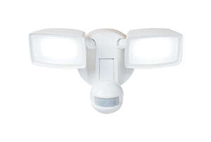 All-Pro  Motion-Sensing  180 deg. LED  1  Outdoor Floodlight  Hardwired