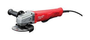 Milwaukee  Corded  11 amps 4-1/2 in. Small Angle Grinder  Bare Tool  Paddle  11000 rpm