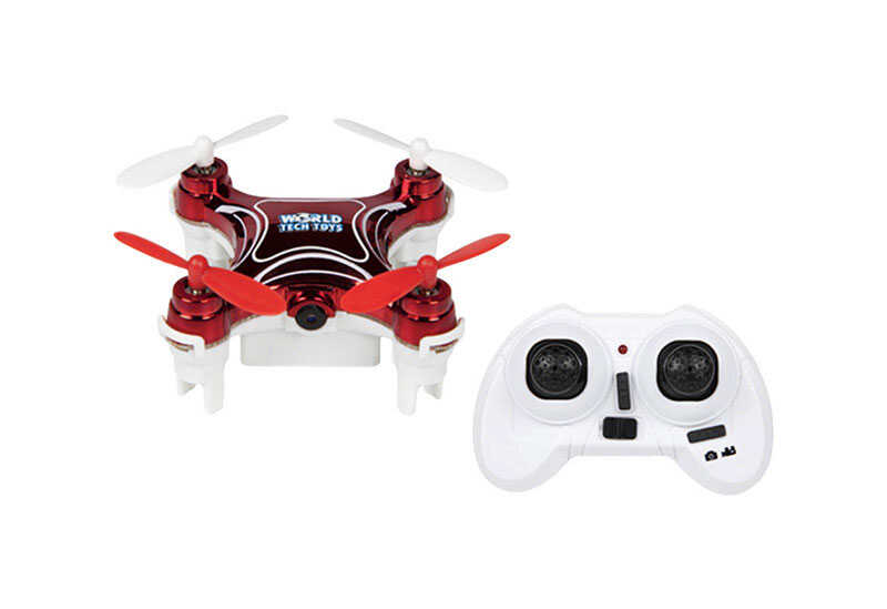 World Tech Toys  Plastic  Remote Control Drone