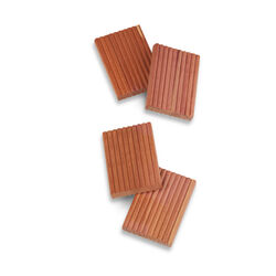 Honey-Can-Do 3 in. H x 1-3/4 in. W x 1/2 in. L Wood Cedar Hanger Rings 4 pk