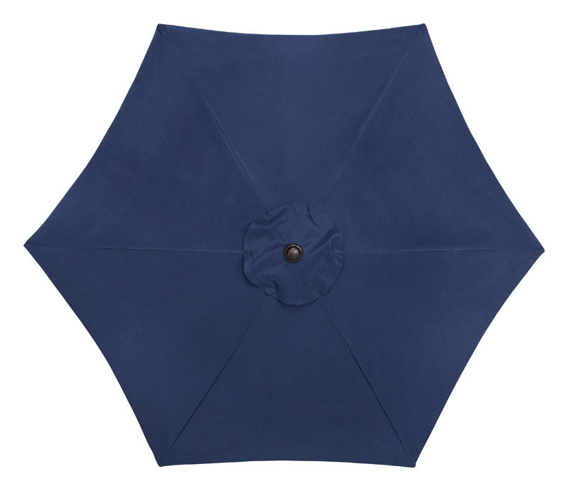 Tiltable Navy Patio Umbrella