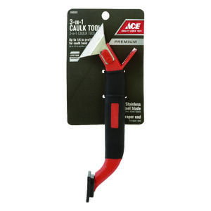 Ace  Black  Professional  Steel  Caulk Remover Tool  1 pk