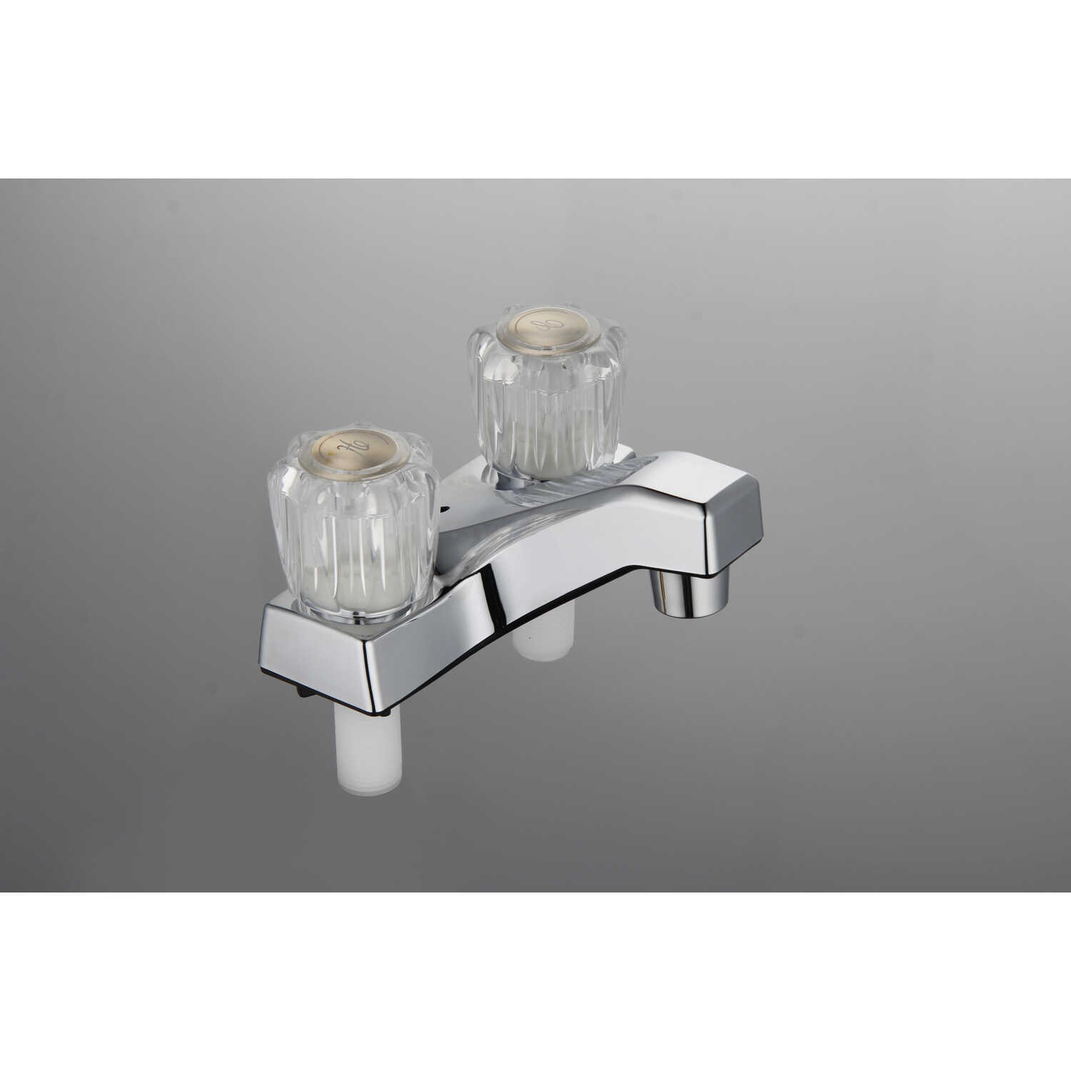 Home Plus  Traditional  Two Handle  Lavatory Faucet  4 in. Chrome