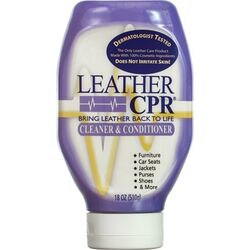 Leather CPR  No Scent Leather Cleaner And Conditioner  18 oz. Cream
