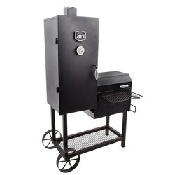 Oklahoma Joe's  Bandera  Charcoal  Freestanding  Smoker Cooker  Black  39 in.