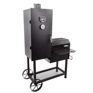 Oklahoma Joes  Oklahoma Joe's Bandera  Charcoal  39.3 in. W Black  Smoker Cooker