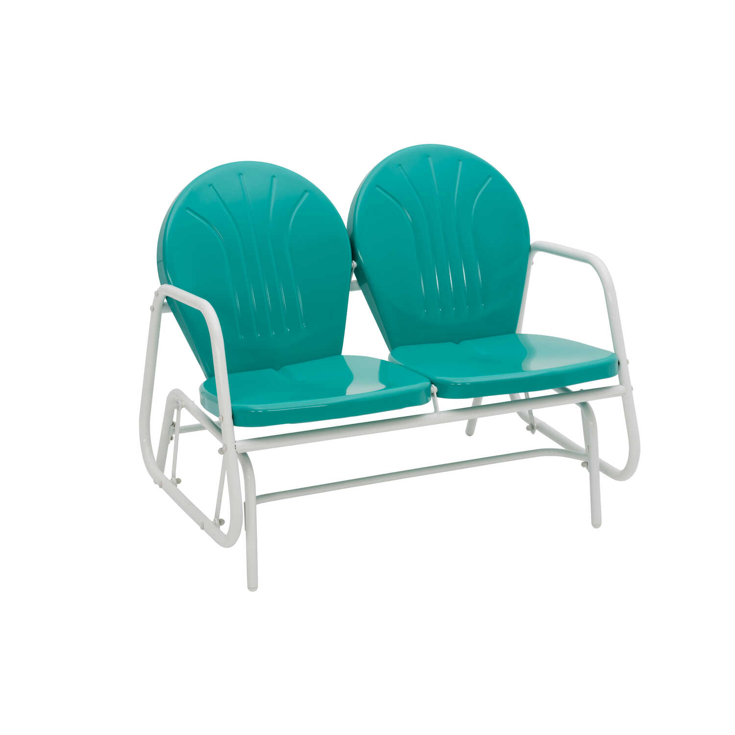 Jack Post  Turquoise  Steel  Glider  Chair