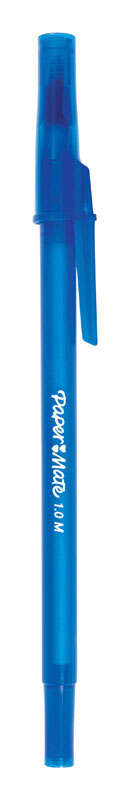 Papermate  Write Bros  Blue  Ball Point Pen  10 pk