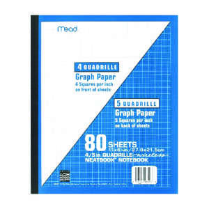 Mead  8-1/2 in. W x 11 in. L Perfect Bound  Notebook