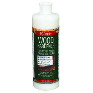 PC-Petrifier  White  Wood Hardener  16 oz.