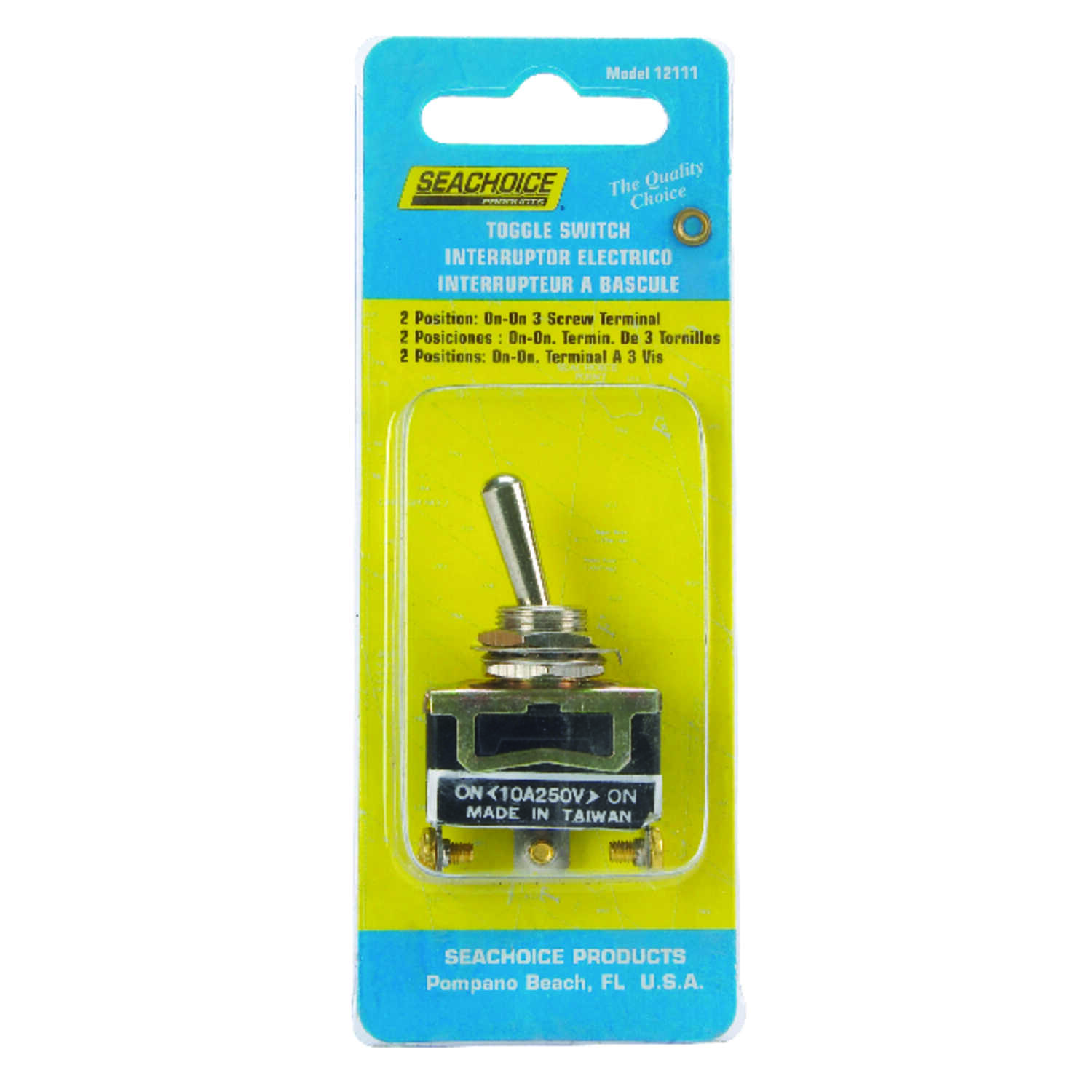 Seachoice  Toggle Switch  Brass