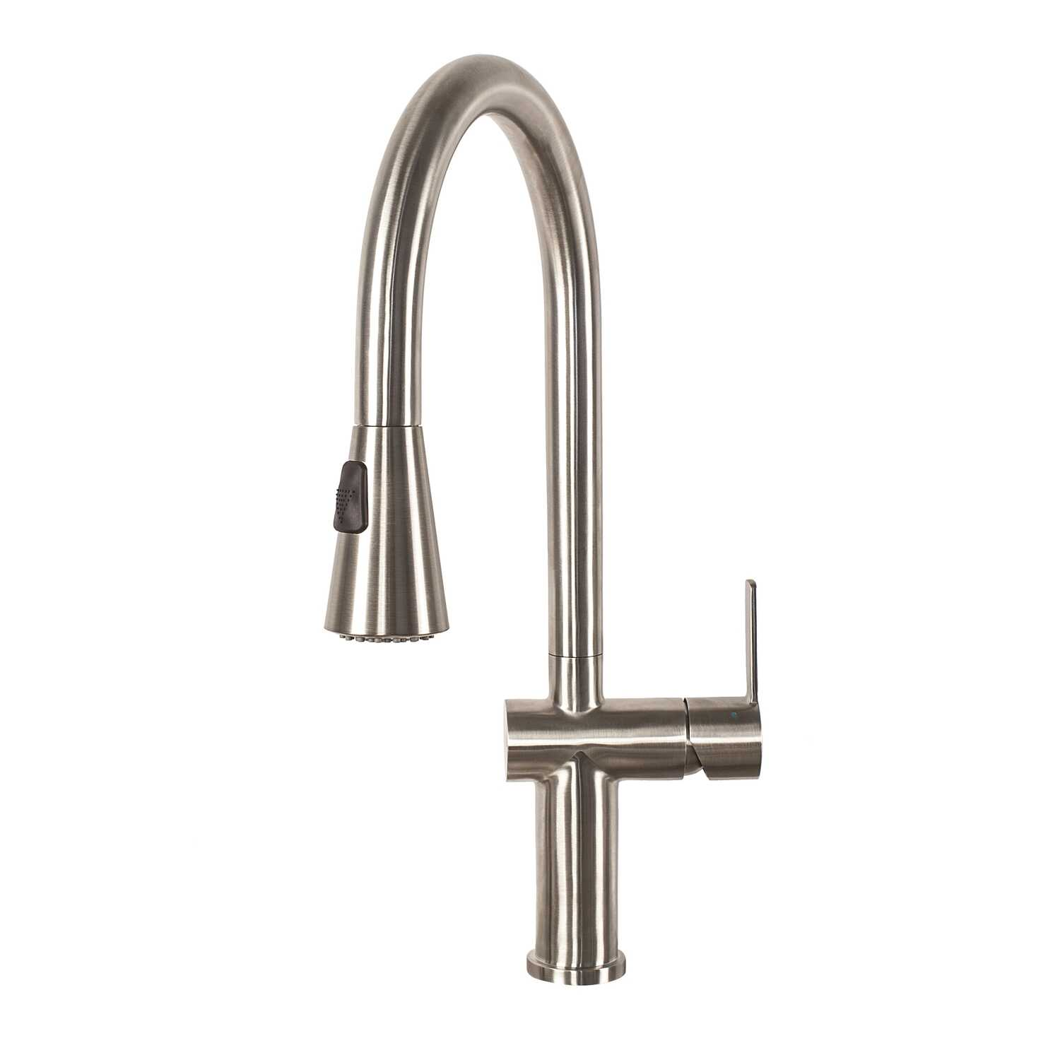 Franke  Bern Pro  Pull Down  One Handle  Stainless Steel  Kitchen Faucet