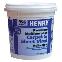 Henry  356 MultiPro Premium Multipurpose  High Strength  Paste  Carpet & Sheet Vinyl Adhesive  1 gal