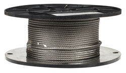 Campbell Chain  Electro-Polish  Stainless Steel  1/8 in. Dia. x 250 ft. L Cable