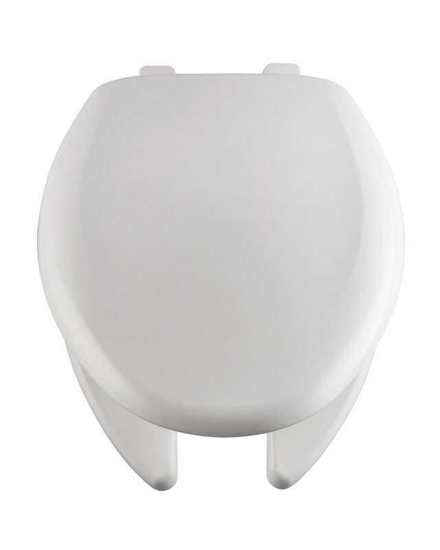 Bemis Elongated White Plastic Toilet Seat Ace Hardware