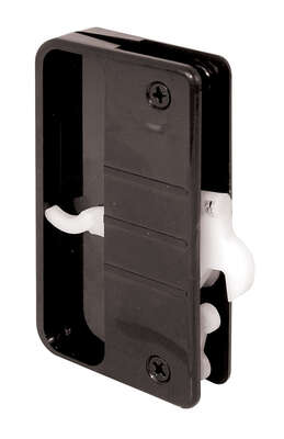 Prime-Line  Brown  Black  Plastic  Latch and Pull  1 pk