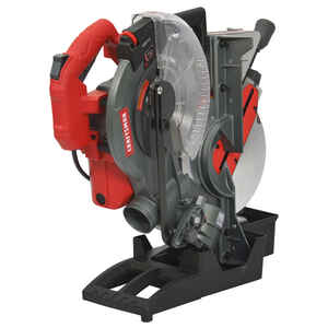 Craftsman  10 in. Corded  Folding  Compound Miter Saw with Laser  15 amps 4,500 rpm