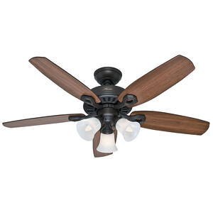 Hunter  42 in. 5 blade Indoor  New Bronze  Ceiling Fan