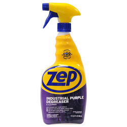Zep  Unscented Scent Industrial Purple Degreaser  32 oz. Spray
