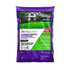 Ace  Green Turf  30-0-4  Crabgrass Preventer with Fertilizer  For All Grass Types