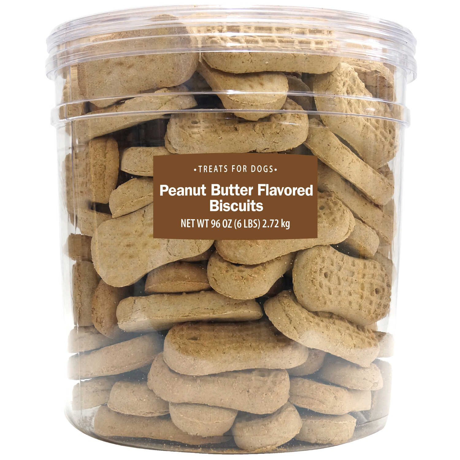 Sunshine Mills  Peanut Butter  Dog  Biscuit  1 pk 6 lb.