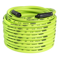 Flexzilla  100 ft. L x 3/8 in. Dia. Hybrid Polymer  Air Hose  300 psi Zilla Green